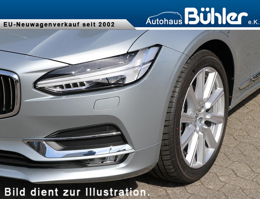 Volvo V90 D5 AWD Inscription - electric silver metallic