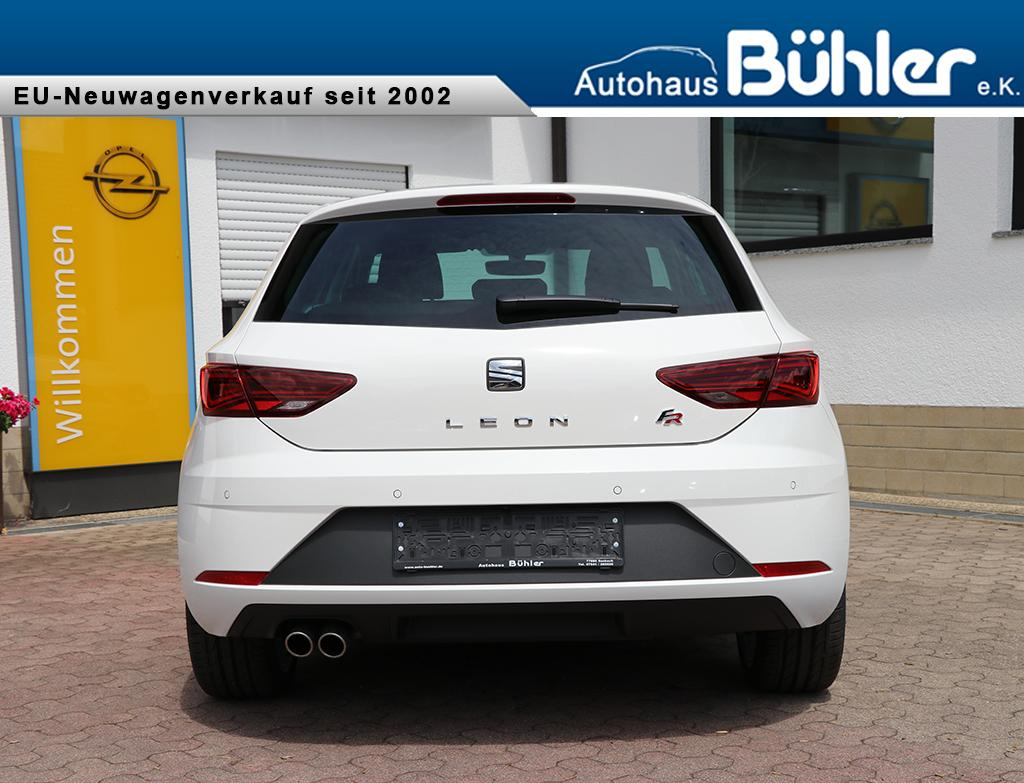 seat leon mj2019 fr my19 1 5 tsi euro 6d temp voll led. Black Bedroom Furniture Sets. Home Design Ideas
