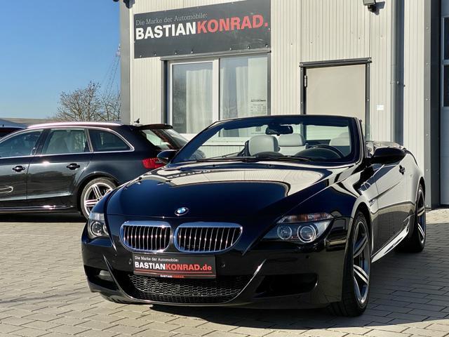 BMW M6    V10 Cabrio NAVI TV HEADUP 305 KMH