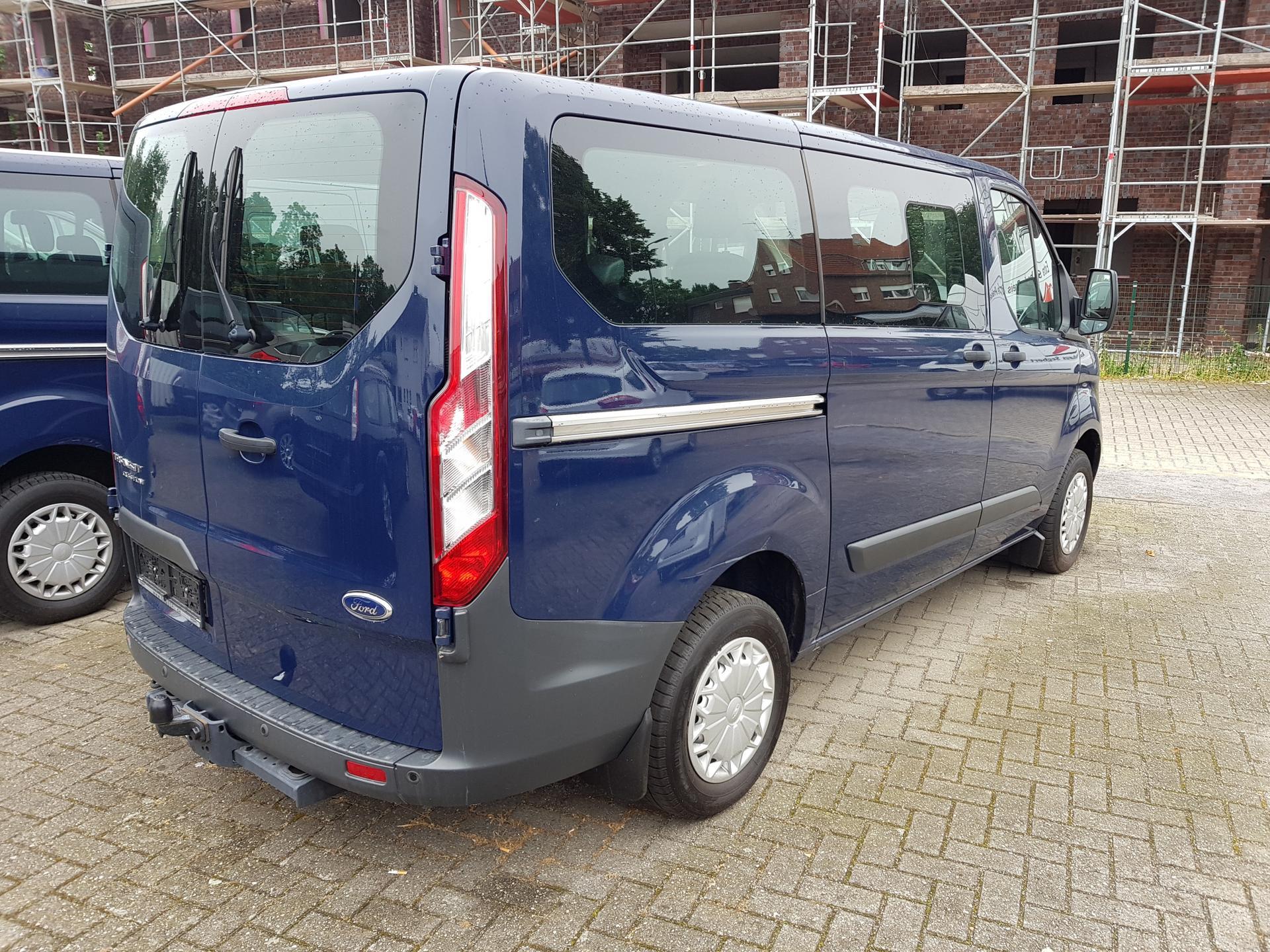 Ford Transit Custom Ft 300 Trend 2 2 L 125 Ps 9 Sitzer Ahk L1h1 Eu