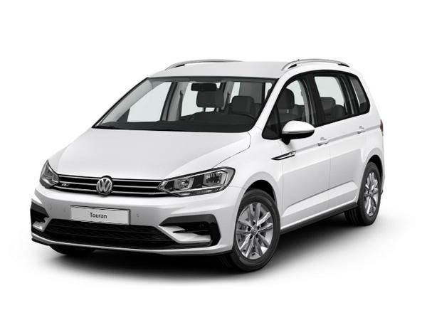 VW Touran neu R-Line Frontansicht weiss