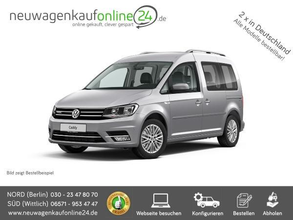 VW Caddy neu online kaufen