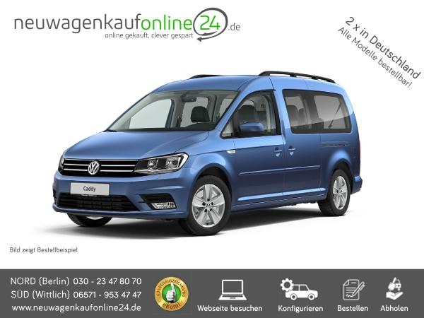VW Caddy MAXI neu, Werbung Autoscout24