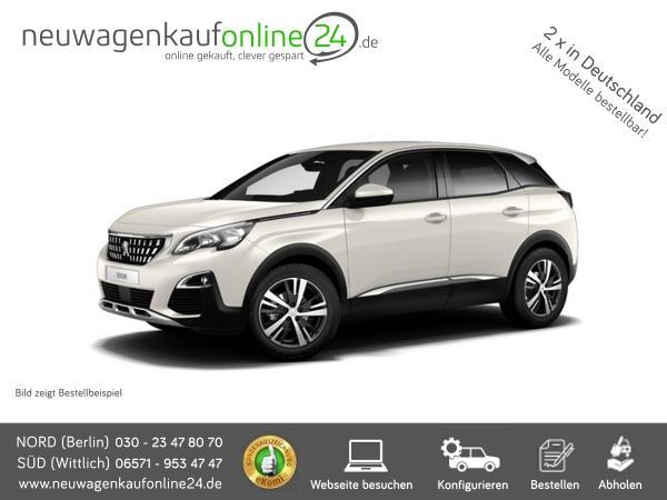 Peugeot 3008 Neu Frontansicht Werbung