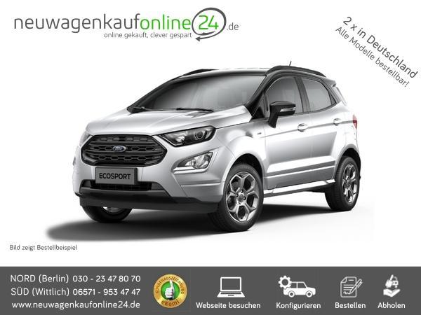 Ford Ecosport neu Frontansicht, Neuwagenkaufonline24