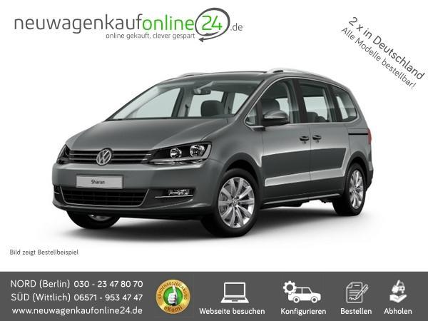VW Sharan neu Frontansicht Neuwagenkaufonline24.de
