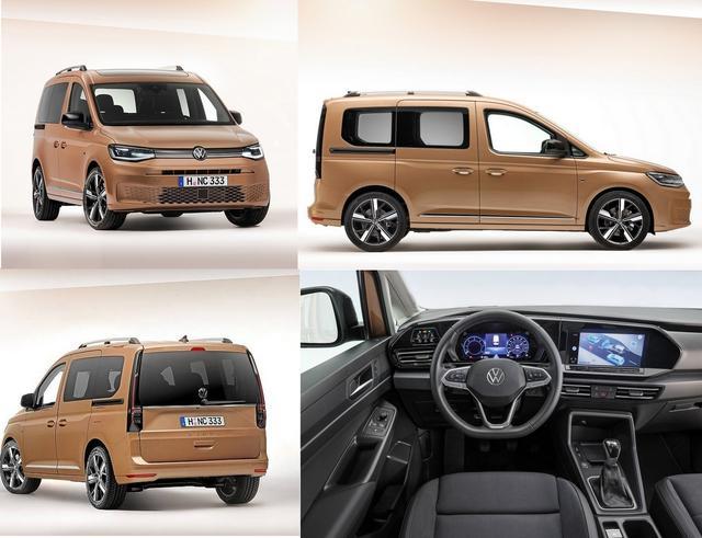 Der neue VW Caddy V