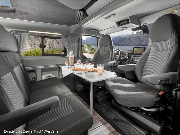 Ford Nugget Camper - Hochdach Bestellfahrzeug, konfigurierbar