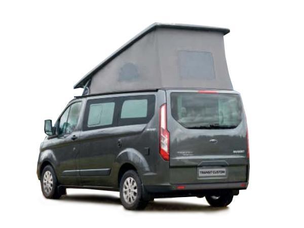 Ford Nugget Camper (neu) - Aufstelldach Bestellfahrzeug, konfigurierbar