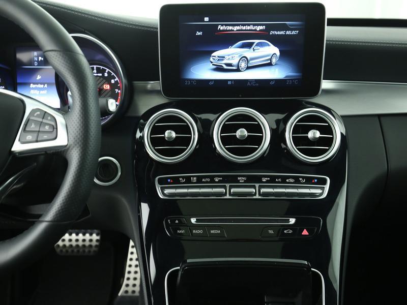 Mercedes benz c klasse c 63 amg fahrassistenz paket plus for Mercedes benz heads up display