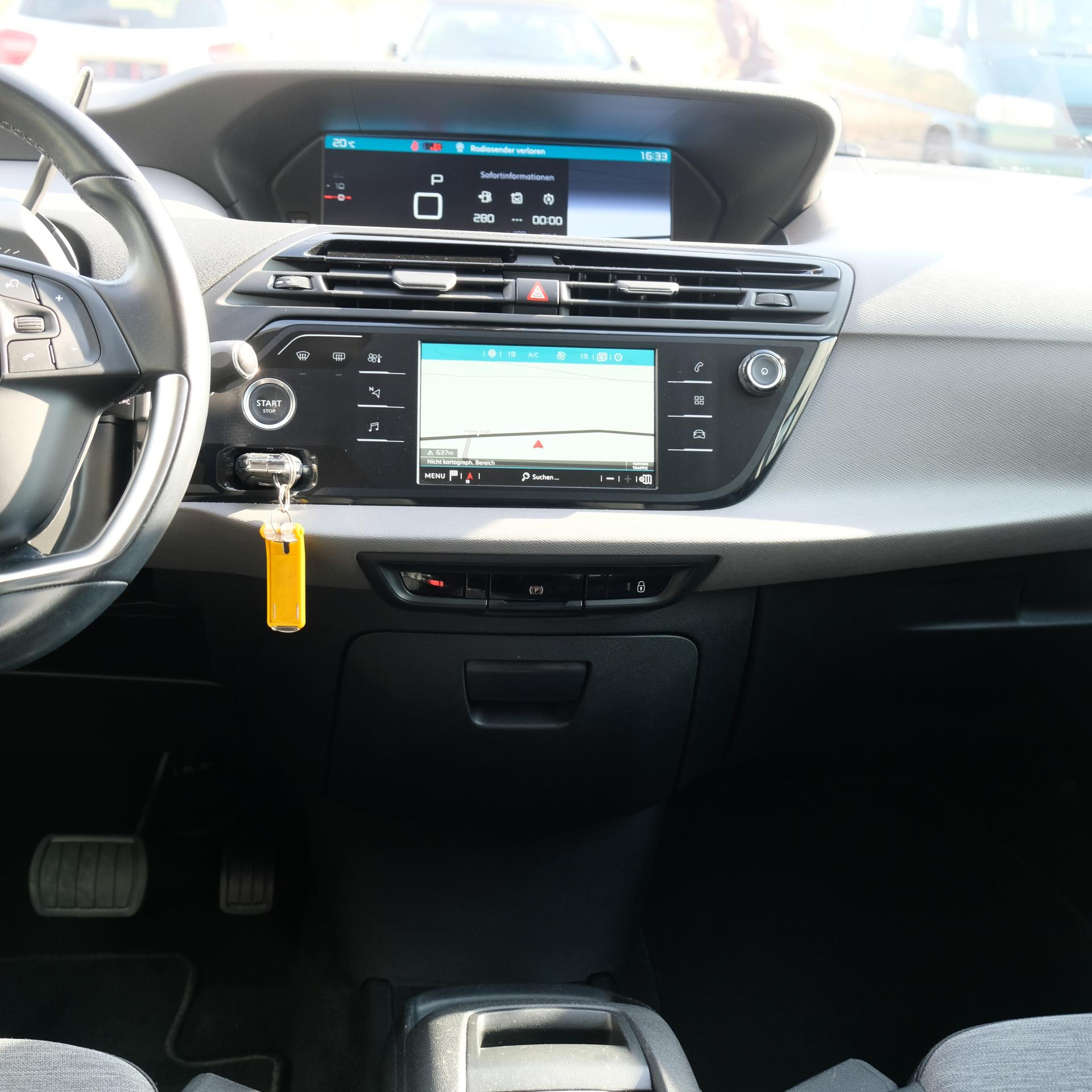 Citroën Grand C4 Picasso Navigation, 7-Sitze, 8-fach Bereift