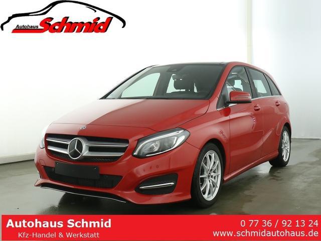 Mercedes-Benz B-Klasse 250 Urban/Panorama Schiebedach/Standheizung/Distronic/LED Scheinwerfer