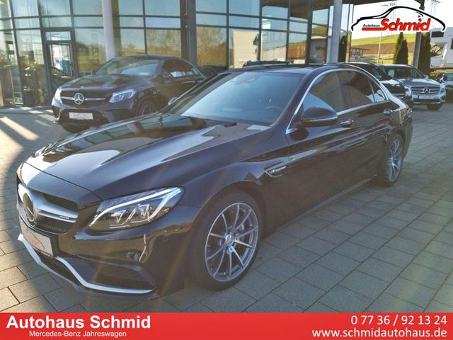 Mercedes-Benz C-Klasse C 63 AMG, Fahrassistenz-Paket Plus, Head-up-Display, Panorama-Schiebedach, Burmester Sorround-Soundsystem