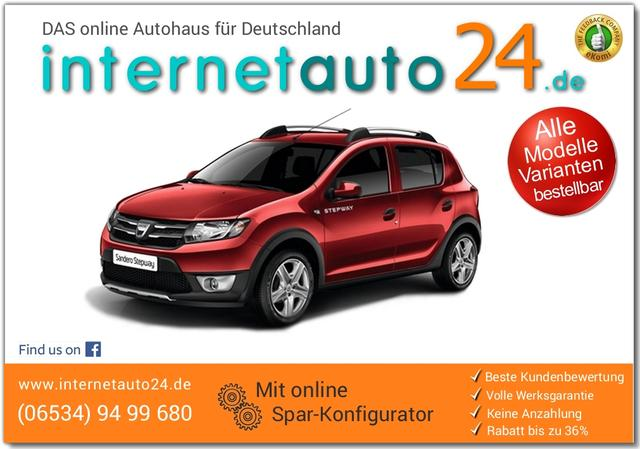 dacia sandero stepway als reimport mit rabatt. Black Bedroom Furniture Sets. Home Design Ideas