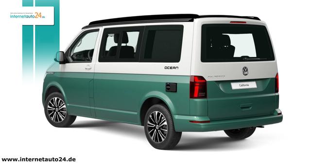 Volkswagen California 6.1 - Ocean  Vorlauffahrzeug - März 2021  Vorlauffahrzeug