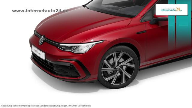 Volkswagen Golf 8 Reimport - R-Line Vorlauffahrzeug