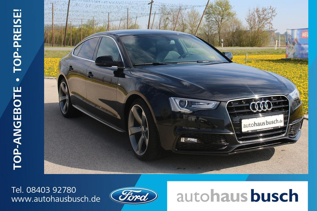 audi audi a5 sportback 2 0 tdi s line plus paket diesel. Black Bedroom Furniture Sets. Home Design Ideas