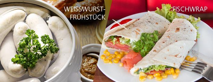 Freitag Mittagsgericht  Weißwurstfrühstück mit Breze