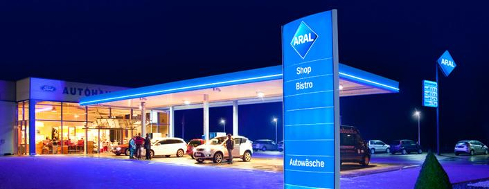 Aral Tankstelle Pförring