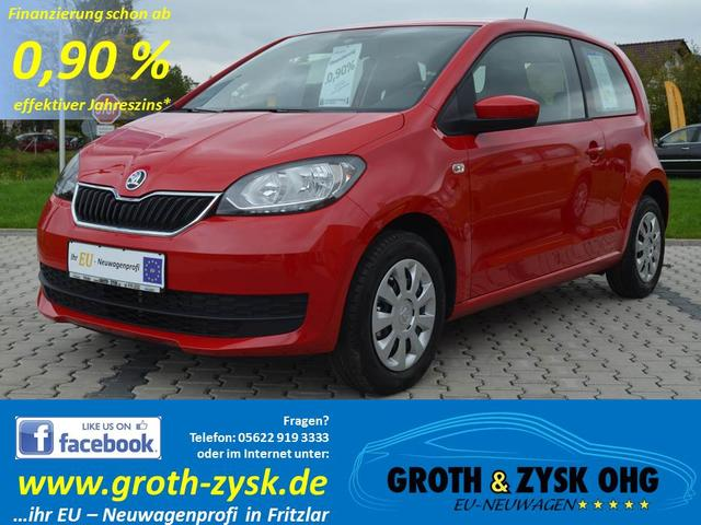 Skoda Citigo - Sofort 1.0MPI AMBITION Klima 3 Türen Radio BLUES el. FH