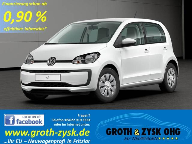 Volkswagen up! - SOFORT MOVE 55KW 5 Türen Cool & Sound Composition Phone BT Klima Lederlenkrad Ersatzrad