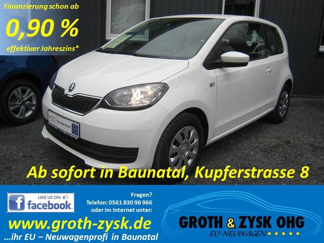 Skoda Citigo - SOFORT Ambition 1.0MPI Radio Blues CD/MP3/SD/USB