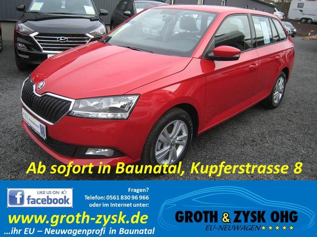 Skoda Fabia Combi - SOFORT AMBITION Neues Modell Sitzheizung PDC Klima Sunset Bluetooth 15