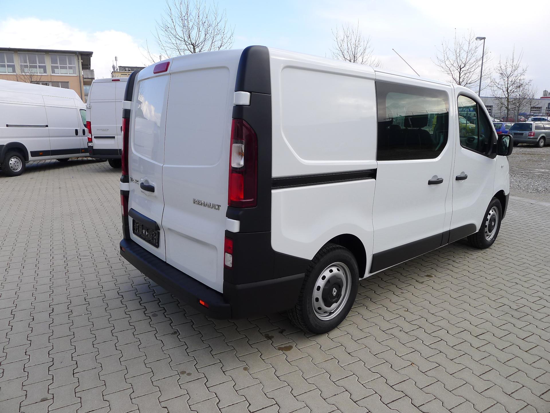 renault trafic 1 6 dci95 euro6 doka 6 sitzer kastenwagen. Black Bedroom Furniture Sets. Home Design Ideas