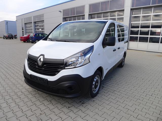 Renault Trafic - 1.6 dCi120 EURO6 DoKa 6-Sitzer Kastenwagen L1H1 AHK Klima PDC