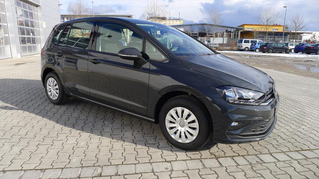 volkswagen golf sportsvan trendline 1 0tsi 85kw eu6dtemp climatronic tempomat bluetooth eu. Black Bedroom Furniture Sets. Home Design Ideas