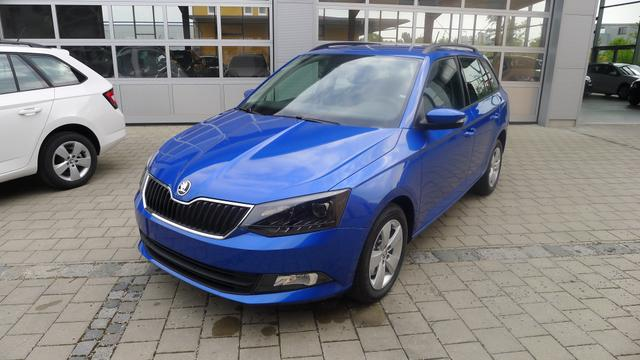 Skoda Fabia Combi - AmbitionPlus 1.0 TSI 81kW (110PS) Bluetooth SHZ PDC Dachreling
