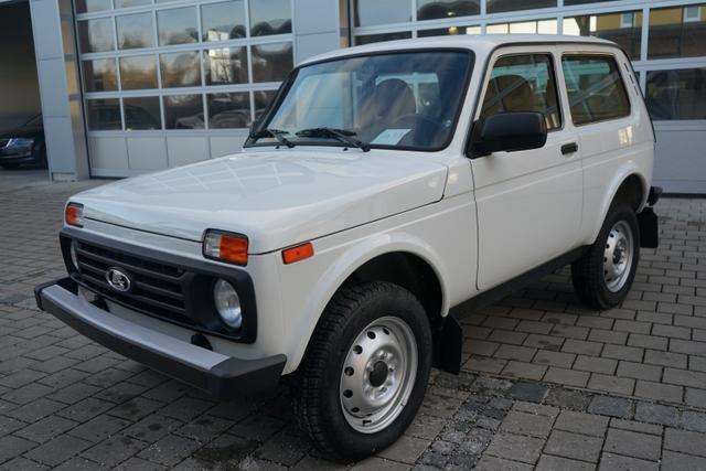 Lagerfahrzeug Lada Niva - 1.7 3-türig 4x4 ALLRAD 61kW AHK EU6dTemp LKW-Zulassung