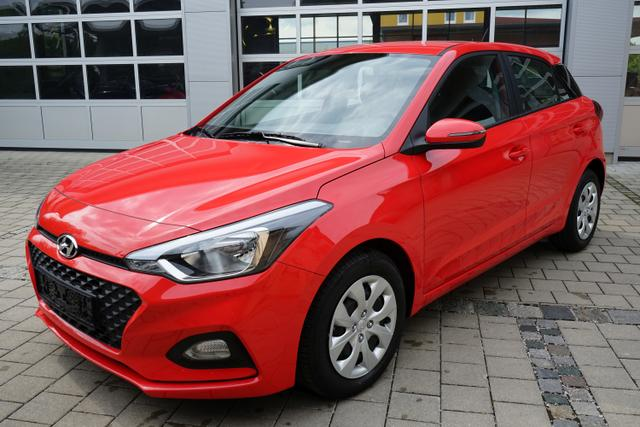 Lagerfahrzeug Hyundai i20 - 1.2 COOL&SOUND 55kW KLIMA EURO6dTemp
