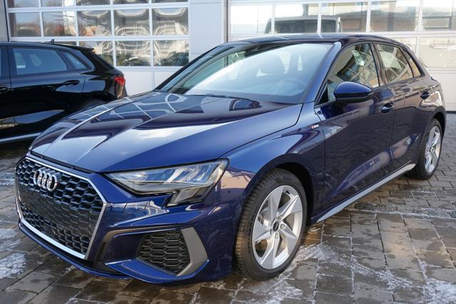 Vorlauffahrzeug Audi A3 Sportback - S-Line 30 TFSI 1.0 81kW (110PS) Neues Modell