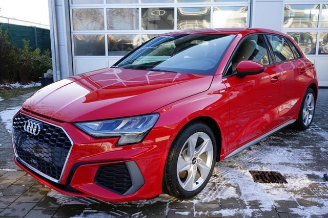 Lagerfahrzeug Audi A3 Sportback - S-Line 30 TFSI 1.0 81kW (110PS) Neues Modell