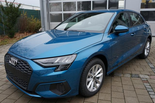 Vorlauffahrzeug Audi A3 Sportback - 30 TFSI 1.0 81kW (110PS) Neues Modell