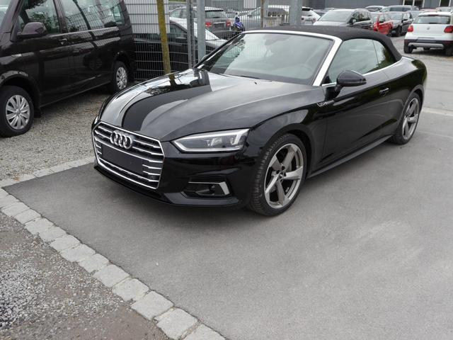 Audi A5 Cabriolet - 2.0 TFSI SPORT * S-LINE QUATTRO S-TRONIC 19 ZOLL LED-SCHEINWERFER NAVI