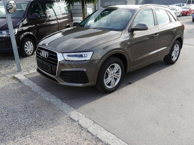 Audi Q3 - 2.0 TFSI QUATTRO * S-TRONIC S-LINE EXTERIEUR LED-SCHEINWERFER NAVIGATIONSPAKET