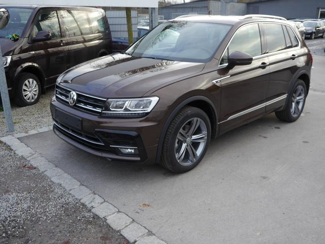 Volkswagen Tiguan - 1.4 TSI DSG 4MOTION HIGHLINE   R-LINE BMT AHK NAVI DISCOVER PRO 19 ZOLL