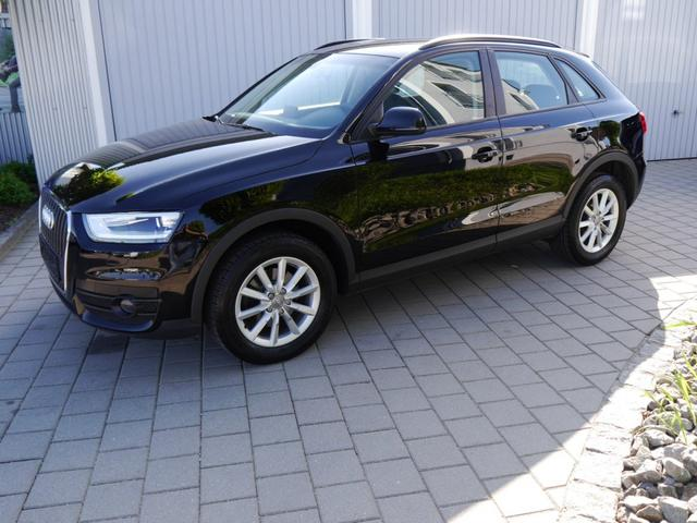 Gebrauchtfahrzeug Audi Q3 - 2.0 TDI DPF   XENON KOMFORTSCHLÜSSEL PDC SITZHEIZUNG TEMPOMAT LM-FELGEN 17 ZOLL
