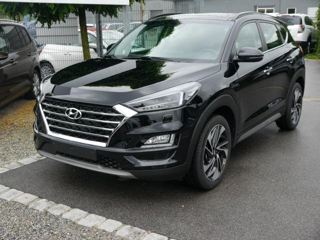 Hyundai Tucson - 1.6 T-GDI 4WD EXCELLENCE * DCT PANORAMA-DACH NAVI RÜCKFAHRKAMERA ACC SHZG VORN & HINTEN
