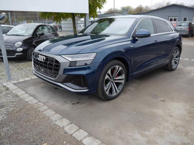 Audi Q8 - 50 TDI DPF QUATTRO * S-LINE 22 ZOLL HD MATRIX LED ASSISTENZPAKET PANORAMA-DACH