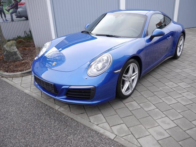 Porsche 911 - Carrera 4 PDK * NAVI LED-SCHEINWERFER LEDER 19 ZOLL PDC SHZG SITZBELÜFTUNG