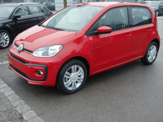 Volkswagen up! - 1.0 HIGH UP!   WINTER PACK PDC SITZHEIZUNG TEMPOMAT KLIMAAUTOMATIK 15 ZOLL