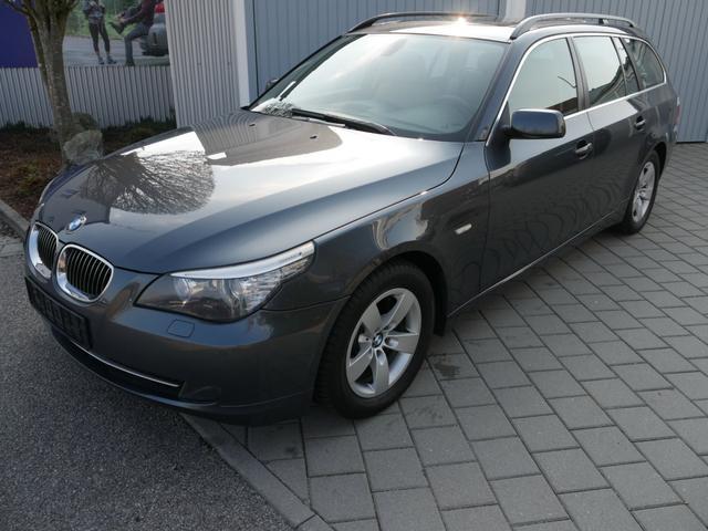BMW 5er - 525d DPF Touring * AHK LEDER BRAUN NAVI XENON PANORAMA-DACH PDC SITZHEIZUNG
