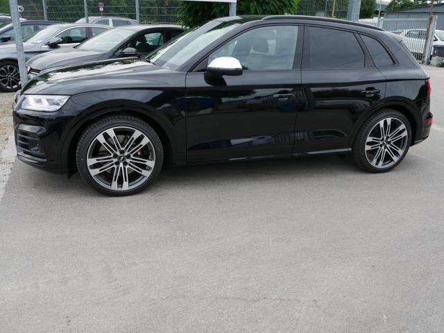 Audi SQ5 - TDI DPF QUATTRO   AHK PANORAMA LEDER 21 ZOLL NAVI PLUS STANDHEIZUNG Vorlauffahrzeug