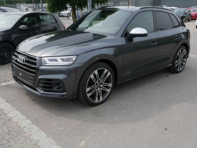 Audi Q5 - TDI DPF QUATTRO * AHK PANORAMA LEDER 21 ZOLL NAVI PLUS STANDHEIZUNG