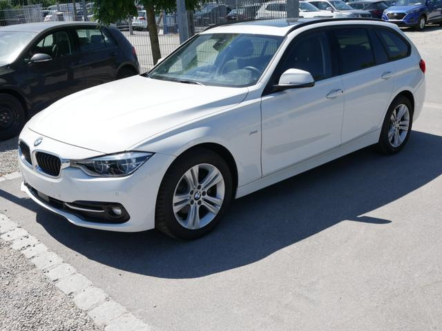 BMW 3er - 320d DPF Touring SPORT LINE * STEPTRONIC AHK PANORAMA-DACH HEAD-UP-DISPLAY NAVI LED