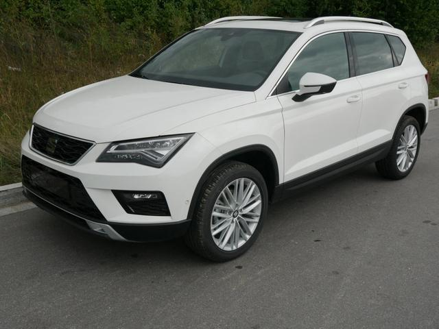Seat Ateca - 1.5 EcoTSI ACT XCELLENCE * PANORAMA TOP-VIEW-KAMERA NAVI PARKLENKASSISTENT VIRTUAL COCKPIT
