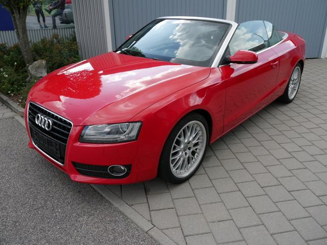 Audi A5 Cabriolet - let 3.0 TDI DPF QUATTRO * S-TRONIC LEDER NAVI XENON PDC SHZG VORN & HINTEN 19 ZOLL